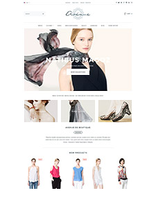 Avenue Flat - Responsive Bigcommerce Template
