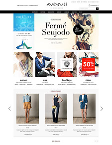 Avenues - Responsive Bigcommerce Template