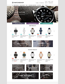 The Watches Shop - Premium Responsive Bigcommerce Template