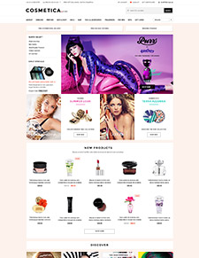 Cosmetica - Responsive Bigcommerce Template