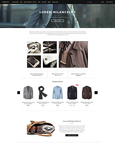 Forte - Responsive Bigcommerce Template